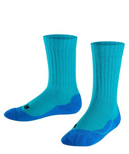 FALKE Kinder Active Warm K SO Socken, Grün (Arctic 7300), 23-26