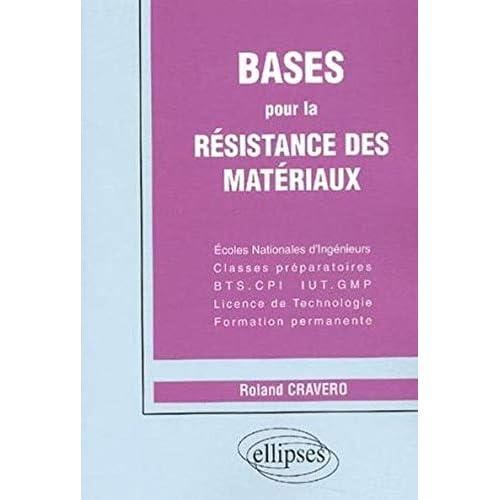 Bases pour la résistance des matériaux