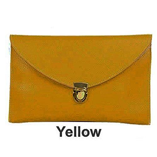SODIAL(R), Borsa tote donna Arancione arancione Giallo (giallo)