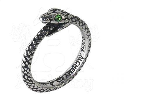 Alchemy Gothic Il Serpente Sophia Anello