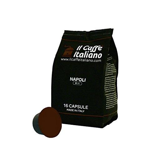 96 cápsulas de café compatibles Nescafé Dolce Gusto - Mezcla Napoli - Il Caffè italiano - FRHOME