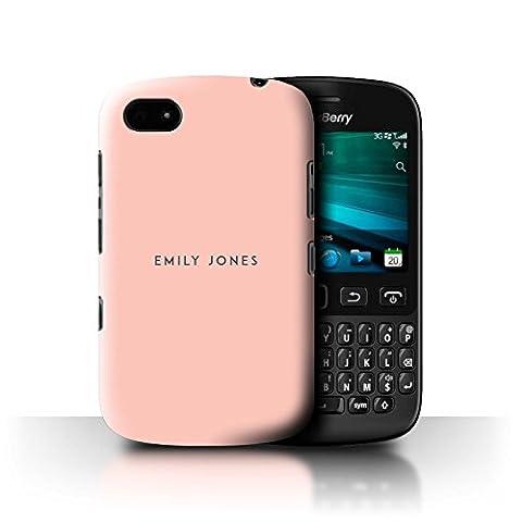 Coque Pour Blackberry 9720 - Personnalisé Timbre Pastel Coutume Coque pour Blackberry