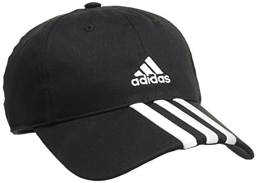 adidas Cap Essentials 3 Stripes, Schwarz, 56-58 cm, 0054240594400087