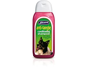 Johnsons Anti Tangle Dog Conditioning Shampoo 200ml by Johnson's Veterinary Products