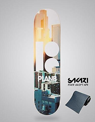 Monopatín skate skateboard PLAN B TEAM CITY 8,5