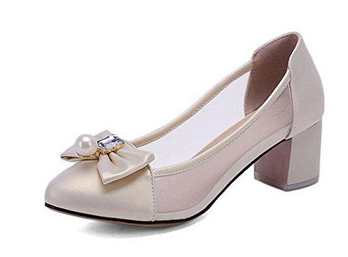 Traspirante, scarpe da tennis Reti semplici Moda farfalla con tacco donne di media Shoes gold