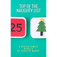 Top Of The Naughty List: A Christmas Novella (English Edition)