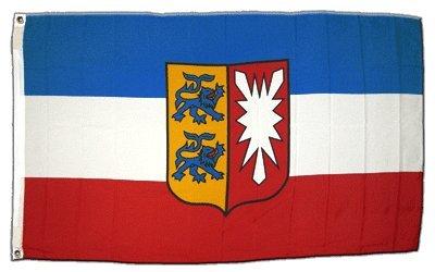 Flagge Deutschland Schleswig-Holstein - 60 x 90 cm