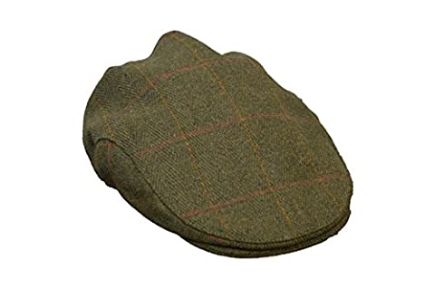 Walker & Hawkes - Uni-Sex Derby Tweed Flat Cap Hunting