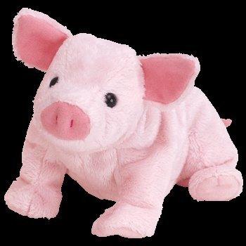 TY Luau the Pig Beanie Baby