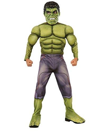 Deluxe Kostüm Kids Hulk Avengers Age Of Ultron Set, groß, 8-10 Jahre, Höhe - 4'5'20.32 cm