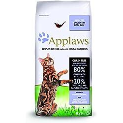 Applaws Comida seca para gatos, pollo y pato/adulto, 2 kg