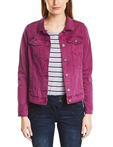 Cecil Damen Jeansjacke 210681 Hedda, Rosa (Magic Pink 11277), 36 (Herstellergröße: S) (Kleine Jeans-jacke)