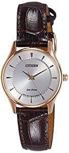 Citizen Analog White Dial Unisex Watch - EM0403-02A