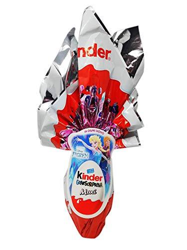 Uovo di cioccolato kinder gran sorpresa frozen principesse con fantastica sorpresa 220 gr