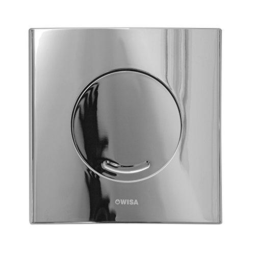 WISA XS Excellent WC Bedienungsplatte Argos SU glanz chrom