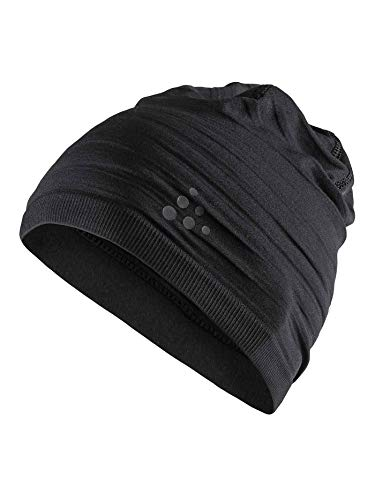 Craft Kinder WARM Comfort HAT Mützen, Black, One Size