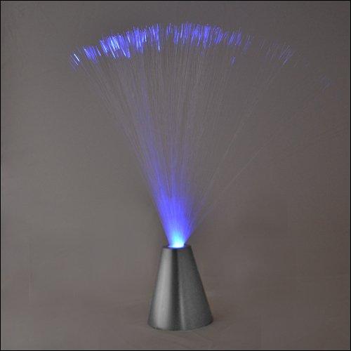 Fiberglaslampe Glasfaserleuchte Dekolicht 35 cm