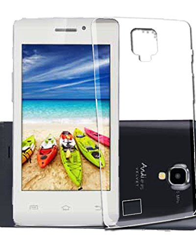 WTF Back Case, Lightweight,Shock Absorbing Transparent Soft Back Case Cover For iBall Andi 4 IPS Tiger  available at amazon for Rs.184