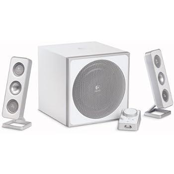 Logitech Z-4i 2.1 PC-Lautsprechersystem 40 Watt RMS weiß