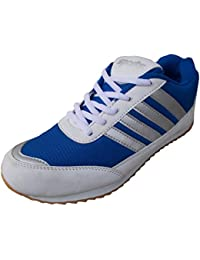 Port Girls Wego Blue PU Running Shoes