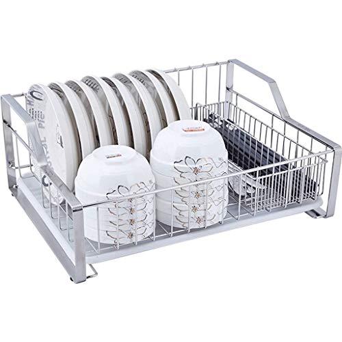 ZENGZHIJIE Regal Küchenschalen-Wäscheständer, Multifunktions-Aufbewahrungsständer mit Tropfschale ZUHAUSE -