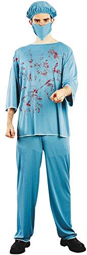 Party Pro 87289590–Kostüm Chirurg blutigen, Größe M