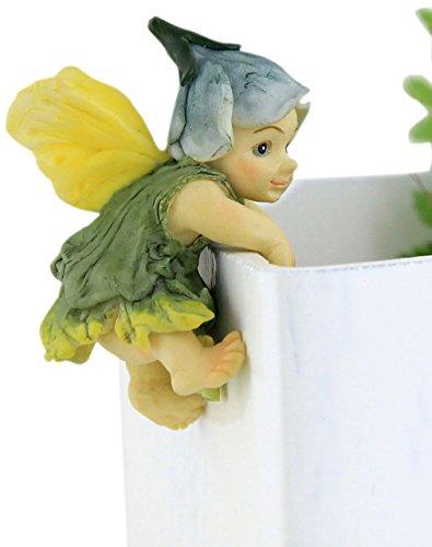 Top Collection Miniatur und Terrarium Fairy Garden Fairy Baby Blumen Topf und Vase Hugger, Mini