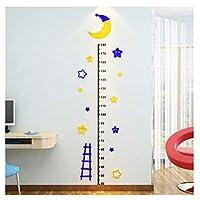 UFO Rocket Height Measure Wall Sticker Cartoon Growth Chart Kid Room Mural Home Decor Gift Wall Decal Cartoon Giraffe RulerJ