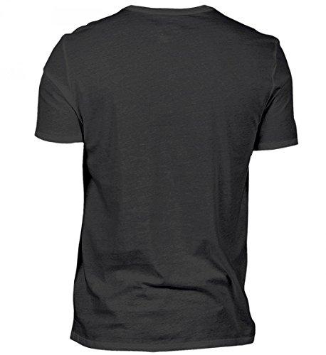 Camicia Da Uomo Scollo A V Di Alta Qualità - Cologne - Zollstock 69 Nero