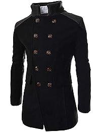 ¡Gran promoción!Abrigos para Hombre Rovinci Chaquetas Guapo Cálido Abrigo  de Invierno Outwear Largo 7e4027646c30b