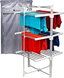 Best Electric Clothes Dryers - Homefront Deluxe EcoDry 3-Tier Electric Heated Clothes Airer/Dryer Review