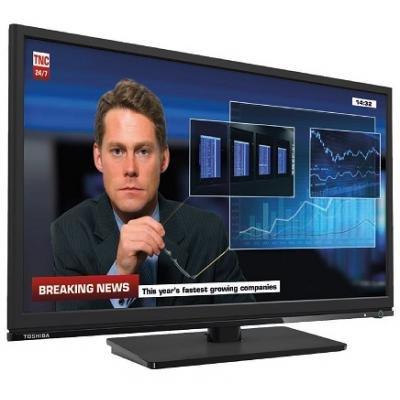 "Preisvergleich Produktbild Toshiba 24J1533DB - 24J1533DB - 24"" HD Ready LED TV 1366 x 768 Resolution Black 1 x HDMI 1 x USB Vesa Mountable 75 x 75mm"