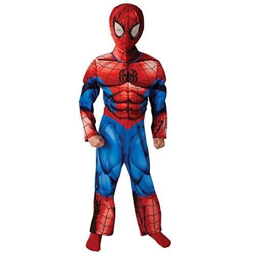 Ultimate Spiderman Kostüm - Rubie's 3620683 - Ultimate Spider-Man Premium - Child, Verkleiden und Kostüme, S