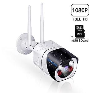 camaras de vigilancia para casa: Cámaras de Vigilancia WiFi,SZSINOCAM Cámaras de Vigilancia Interior/Exterior 108...