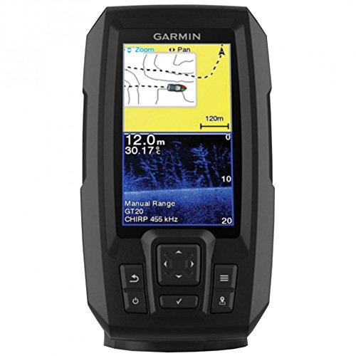 Garmin Striker Plus 4 Ecoscandaglio con GPS integrato e Trasduttore Dual Beam 010-01870-01