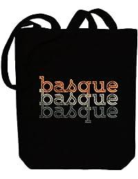 Idakoos Basque repeat retro - Idiomas Del Mundo - Bolsa de Lona