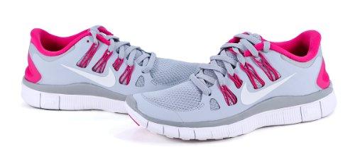 Nike Free 5.0+ Women's 061 (F1) Wolf Grey/Pink Force/White