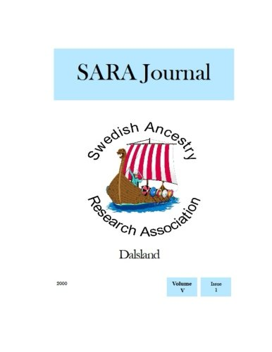 SARA Journal Dalsland: Volume 5