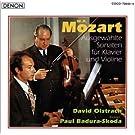 Mozart : Sonates choisies pour violon et piano