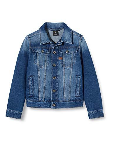 G Star Sq40007veste Americana, Azul Medium Aged 461, 14 años Talla del Fabricante: 14A para Niños...