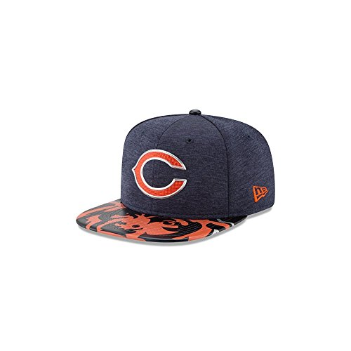 New Era NFL Chicago Bears 2017 Draft On Stage Original Fit 9Fifty Snapback Cap M-L