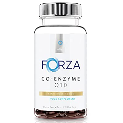FORZA Co-Enzyme Q10 (CoQ10) 100mg - CoEnzyme Q10 by FORZA Industries