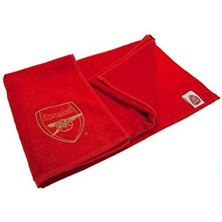 Arsenal F.C. Handtuch, bestickt, offizieller Merchandise-Artikel
