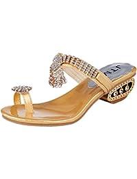 AdeeSu Adee Sandali Donna Oro (Oro), 35.5 EU, SLC01744