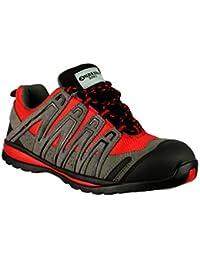 Amblers Steel - Chaussure de Sécurité pour Hommes FS35C - Rouge