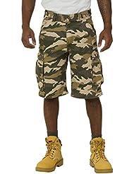Carhartt Rugged Cargo Camo Shorts - Caqui Pantalones cortos hombres trabajo 100279 294 CS.100279.294