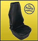 Glorytec Schonbezug Autositz Premium - Hochwertige Auto-Sitzbezüge aus Kunstleder - Universal Sitzauflagen für Jeden Vordersitz - Wasserdichter Autositzbezug und Werkstatt-Schoner