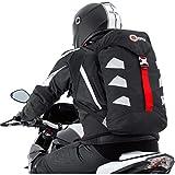 QBag Motorradrucksack wasserdicht, Biker Rucksack für Damen & Herren, 25 Liter Stauraum, sehr...