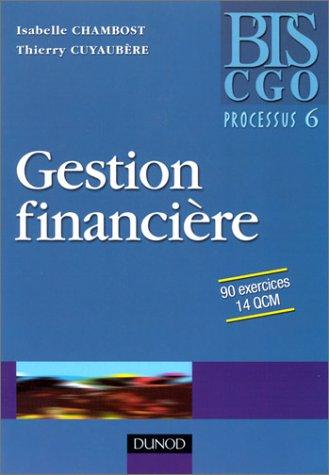 Gestion financière : Processus 6